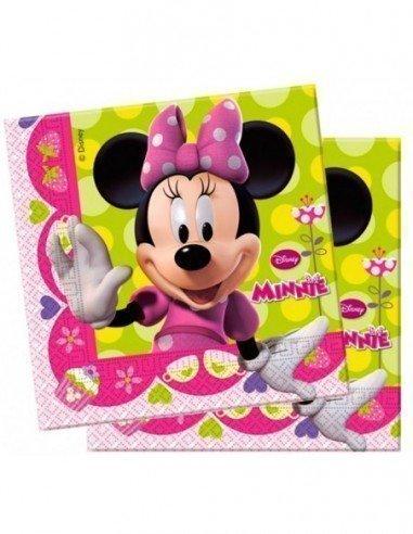 Servilletas Minnie Mouse 20 unidades