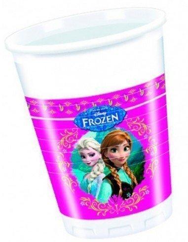 Pack 8 Vasos Frozen