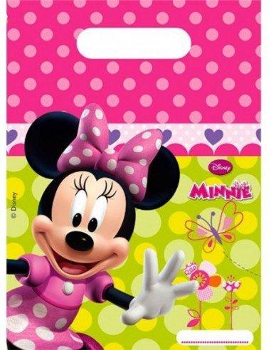 Pack 6 bolsas Minnie Mouse.