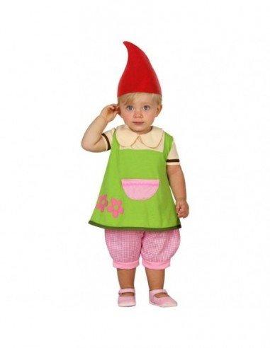 Disfraz de Duende Niña Bebé