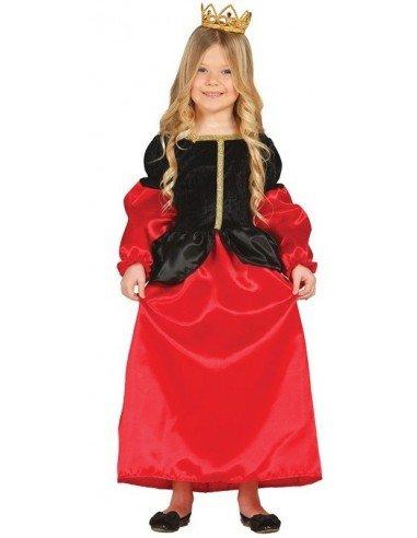 Disfraz de Cortesana Medieval Infantil
