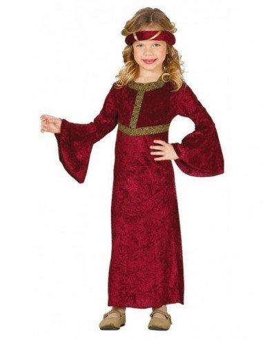 Disfraz de Dama Medieval Infantil