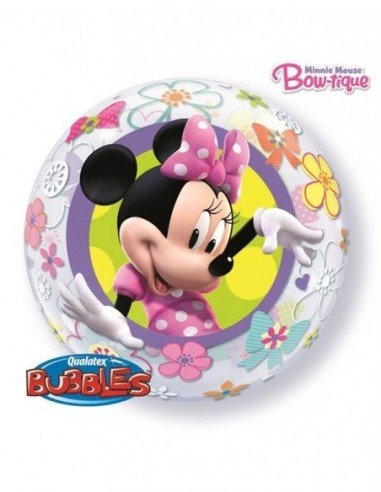 Globo Bubble Disney Minnie Mouse...