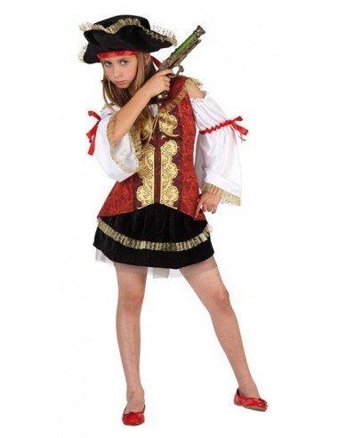 Disfraz de Pirata Lujo Infantil