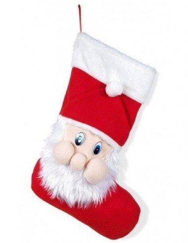 Saco  Bota de Papá Noel Tela