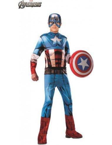 Disfraz de Capitán América Clásico...