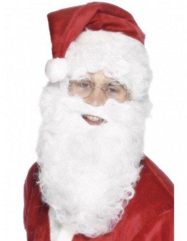 Barba Blanca Papá Noel Deluxe 28 cm