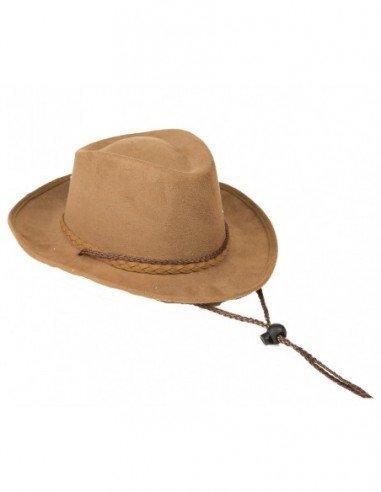 Sombrero Vaquero Marrón 49 cm Niños