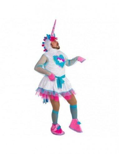 Disfraz de Unicornio hombre adulto
