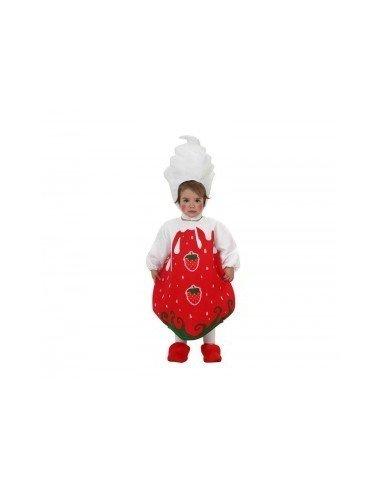 Disfraz de fresa Bebé