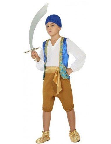 Disfraz de Árabe Azul Infantil