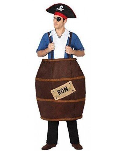 Disfraz de Barril de Ron Adulto