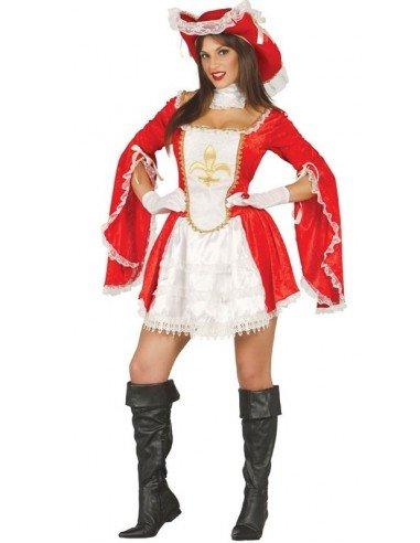 Disfraz de Moquetera Roja Adulta
