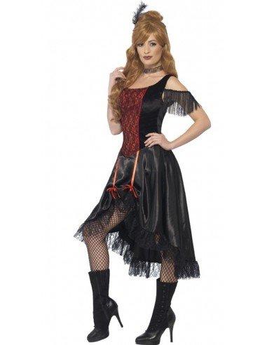 Disfraz de Bailarina del Oeste Adulta
