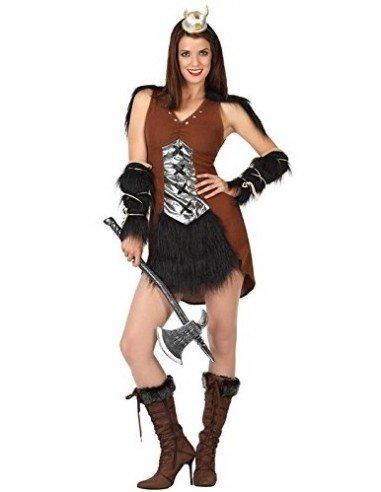 Disfraz de Vikinga Adulta