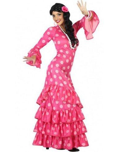 Disfraz de Faralae Rosa con Lunares...