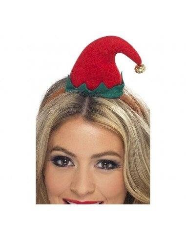 Mini sombrero de Elfo, con diadema