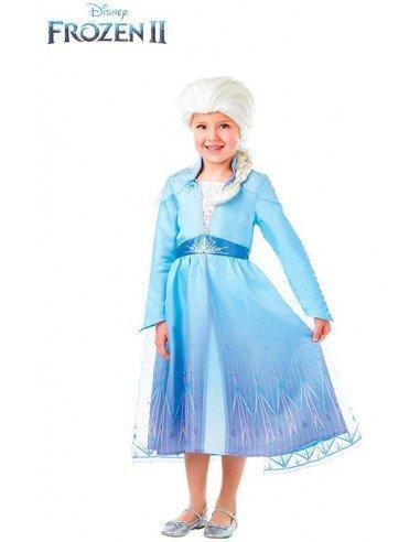 Disfraz de Elsa Frozen 2 con Peluca...
