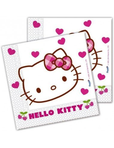 Paquete 20 Servilletas Hello Kitty...
