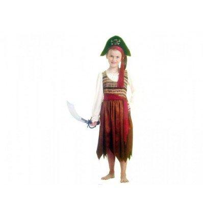 Disfraz de Pirata Niña Infantil