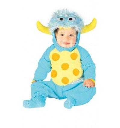 Disfraz de Monstruito Azúl Bebé