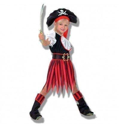 Disfraz de Lady Pirata Infantil