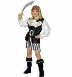 Disfraz de Chica Pirata Infantil