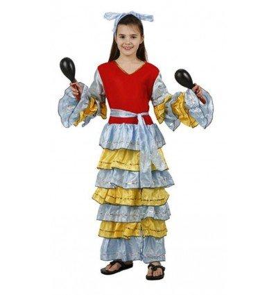 Disfraz de Brasileña Infantil