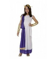 Disfraz de Romana con Tunica Infantil