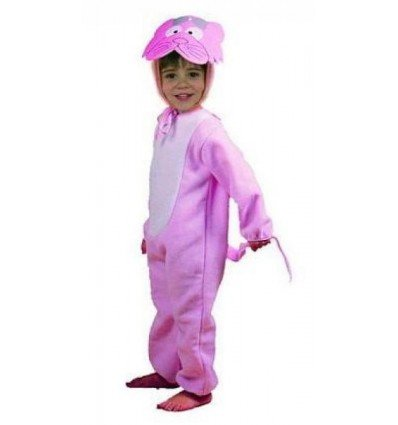 Disfraz de Gatito Rosa Infantil