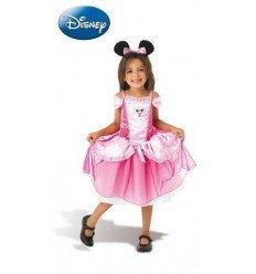 Disfraz de Minnie Mouse Classic Rosa Infantil