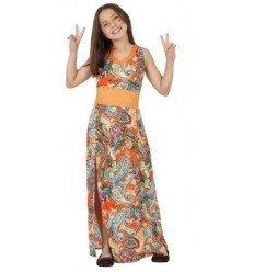 Disfraz de Niña Hippie Infantil