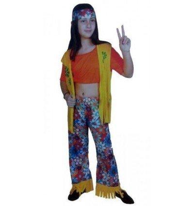 Disfraz de Chica Hippie Infantil