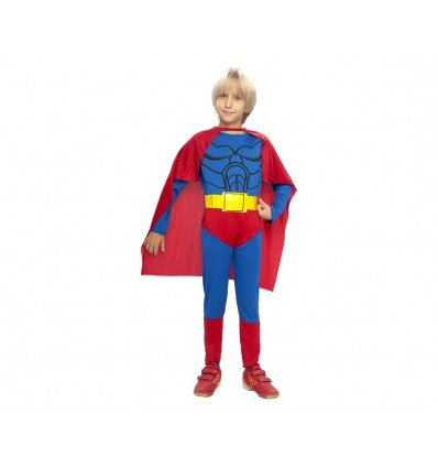 Disfraz de Superheroe con Capa Infantil