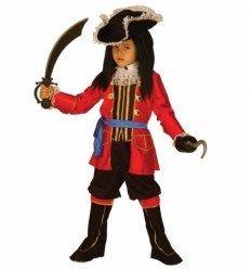 Disfraz de Capitán Pirata Lujo Infantil