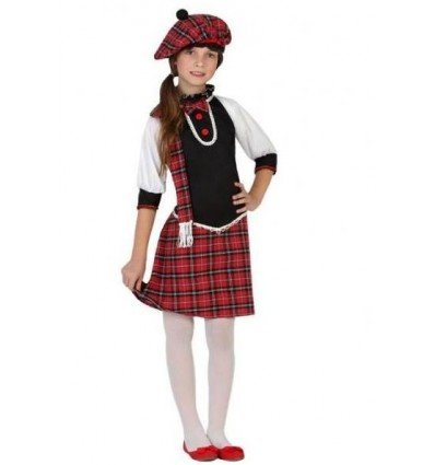 Disfraz de Escocesa Infantil