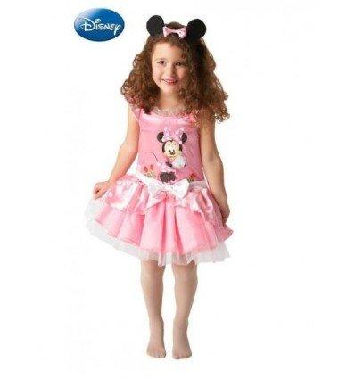 Disfraz de Minnie Mouse Ballerina Rosa Infantil