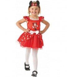 Disfraz de Minnie Mouse Ballerina Infantil en Caja