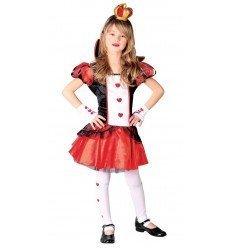 Disfraz de Dama de Corazones Infantil