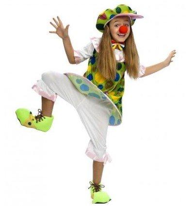 Disfraz de Payasa Aro Infantil