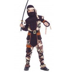 Disfraz de Ninja Comando Infantil