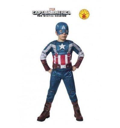 Disfraz de Capitán América WS Retro Musculoso