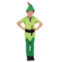 Disfraz de Arquero de los Bosques Infantil