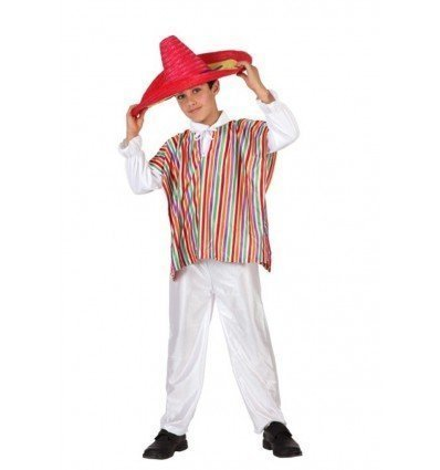 Disfrazde Mejicano Infantil Economico