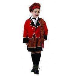 Disfraz de Escocés Rojo Infantil