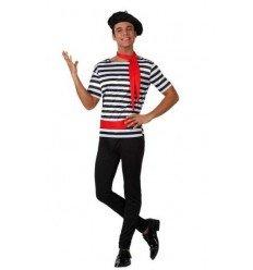 Disfraz de Francés Adulto