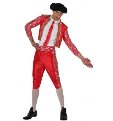 Disfraz de Torero Rojo Adulto