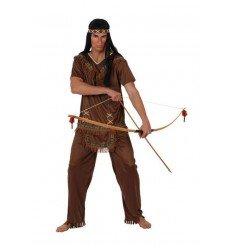 Disfraz de Indio Marrón Adulto