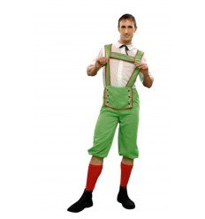 Disfraz de Tirolés en Verde Adulto
