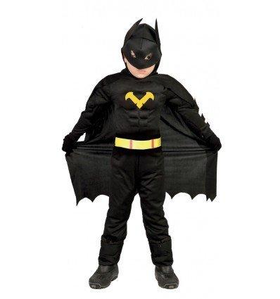Disfraz de Héroe Negro Infantil